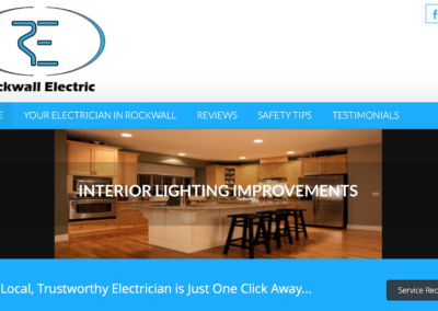 Rockwall Electric Website